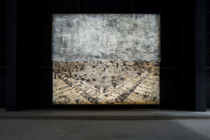 Anselm Kiefer Jaipur, 2009 Courtesy Galleria Lia Rumma, Milan/Naples, and Pirelli HangarBicocca, Milan. Photo: Agostino Osio.