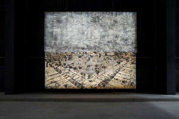 Anselm Kiefer Jaipur, 2009 Courtesy Galleria Lia Rumma, Milano/Napoli, e Pirelli HangarBicocca, Milano. Foto: Agostino Osio.