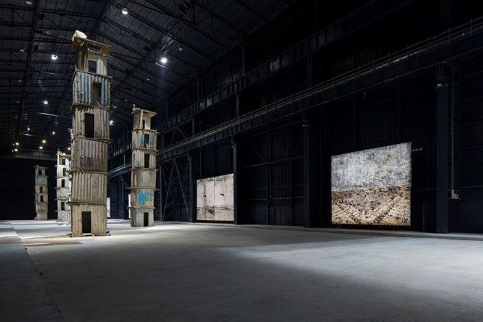 Anselm Kiefer I Sette Palazzi Celesti 2004-2015 Courtesy Pirelli HangarBicocca, Milano. Foto: Agostino Osio