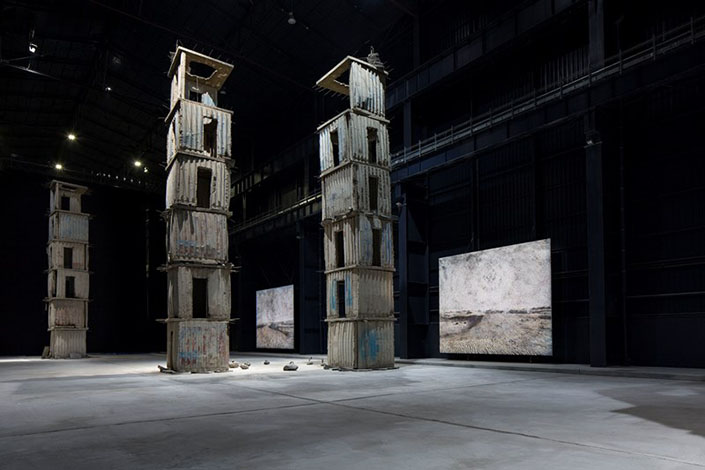 Anselm Kiefer The Seven Heavenly Palaces 2004-2015 Courtesy Pirelli HangarBicocca, Milan. Photo: Agostino Osio