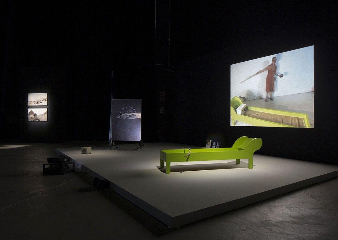 Joan Jonas Light Time Tales, 2014 Installation views Fondazione HangarBicocca, Milan Photo by Agostino Osio Courtesy Fondazione HangarBicocca, Milan