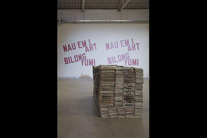 """""""Take Me (I'm Yours)"""", veduta della mostra, Pirelli HangarBicocca, Milano, 2017. Courtesy Pirelli HangarBicocca, Milano. Foto: Agostino Osio"""