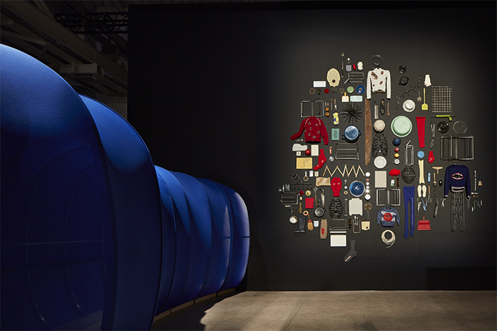 Eva Kot'átková Stomach of the World, 2017, installation view at Pirelli HangarBicocca, Milan, 2018. Courtesy of the artist and Pirelli HangarBicocca, Milan. Photo: Agostino Osio