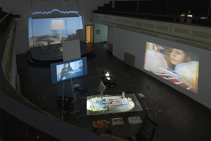 Trisha Baga Exhibition view, Zabludowicz Collection, London, 2014 Courtesy the artist, Greene Naftali, New York, and Zabludowicz Collection, London Photo: Andy Keate