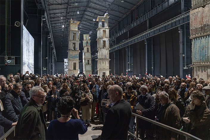 Courtesy Pirelli HangarBicocca, Milan. Photo: Lorenzo Palmieri.