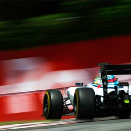 F1 PRESS AREA