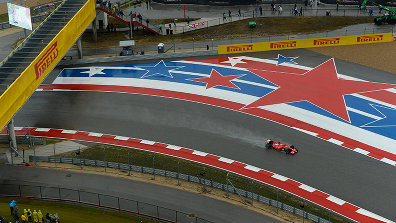 F1: America on the road