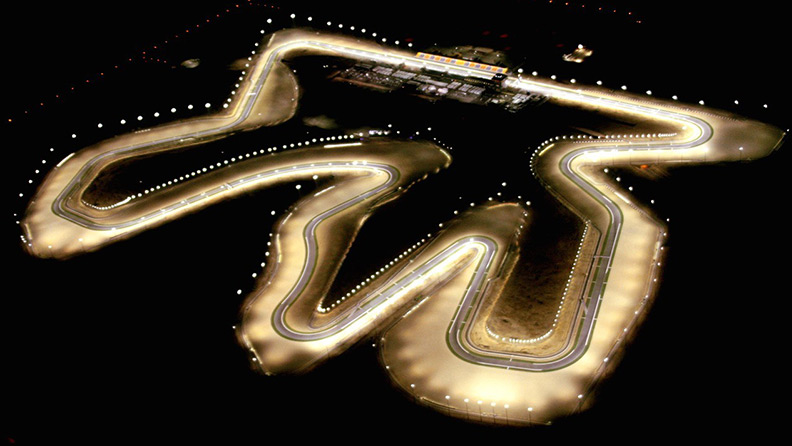 Qatar Round – the Losail Circuit seen by the tyres 01
