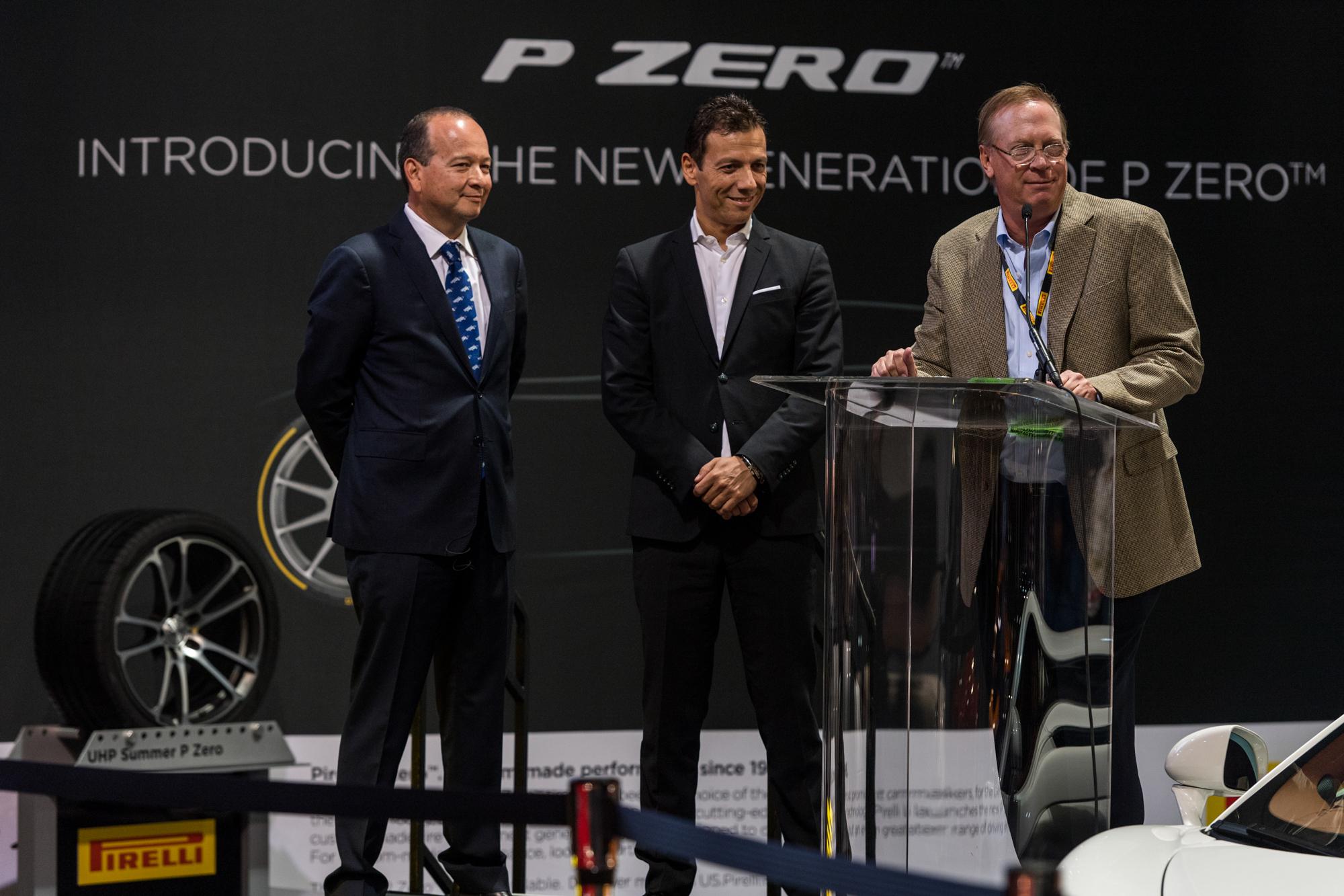 Pirelli at SEMA show 2017