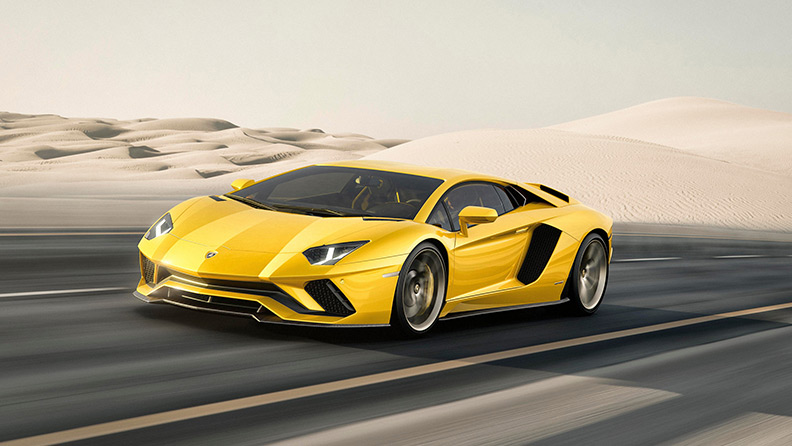 Aventador's coupé. Some icons cannot be re-invented. They simply evolve.