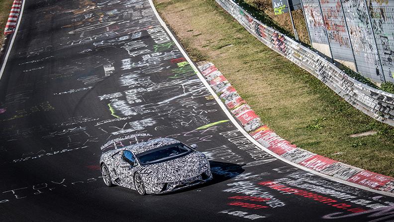 Pirelli and Lamborghini set the new Nürburgring record