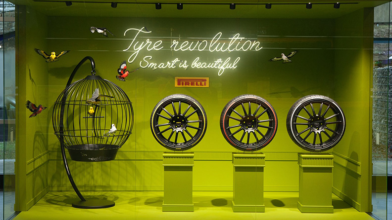 Smart is beautiful. Tyre revolution 01