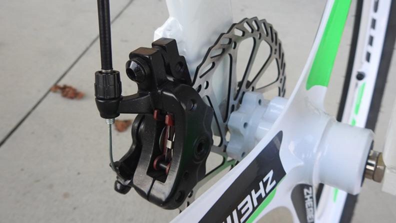 Chainless S1, in bici senza catene e con due ruote sterzanti 3