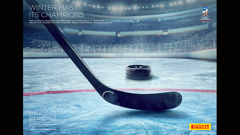 Pirelli: official sponsor of IIHF World Ice Hockey Championship 01