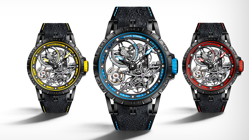 Roger Dubuis dares to be rare and races with Pirelli 01
