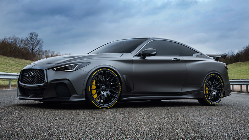 Pirelli and INFINITI announce 'Project Black S' partnership 1