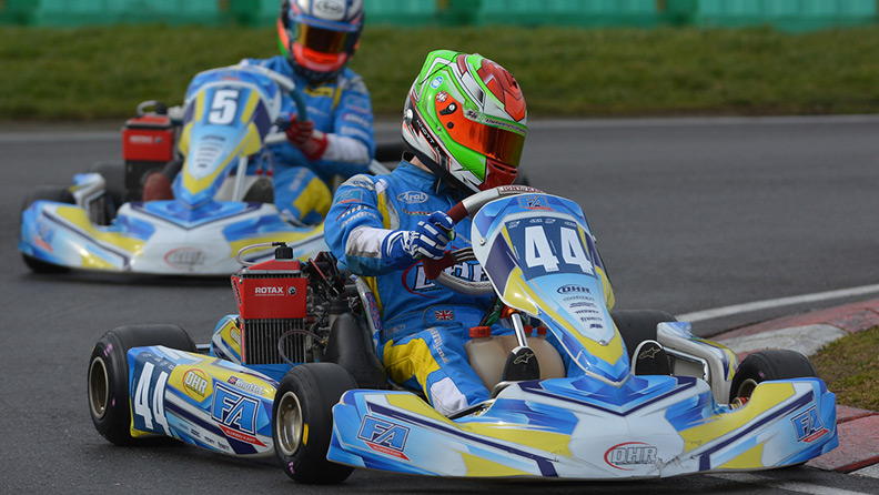 Karting hopefuls in Alonsos's footsteps