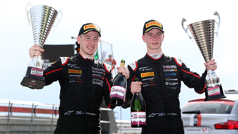 The young guns of British GT