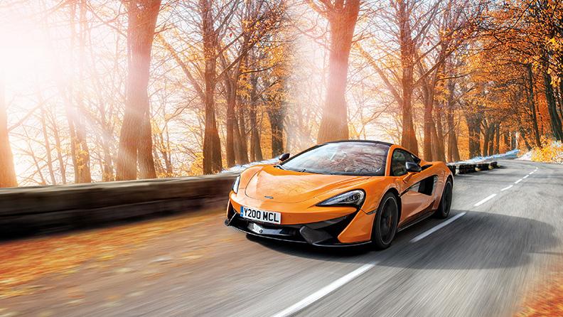 Una McLaren equipaggiata per l'inverno 01