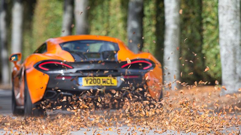 Una McLaren equipaggiata per l'inverno 02