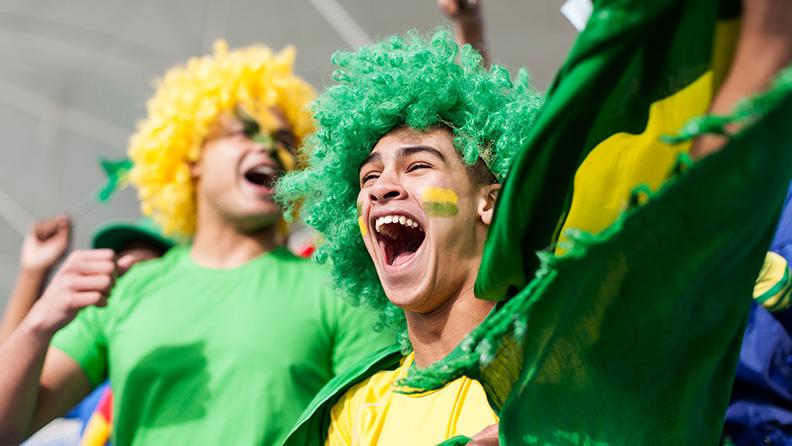 Porque o Brasil é o país do futebol