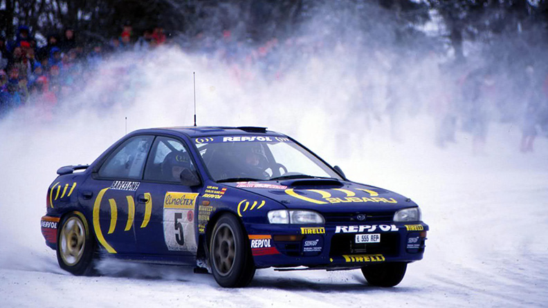 The Rallye Monte-Carlo that was won without studs 02
