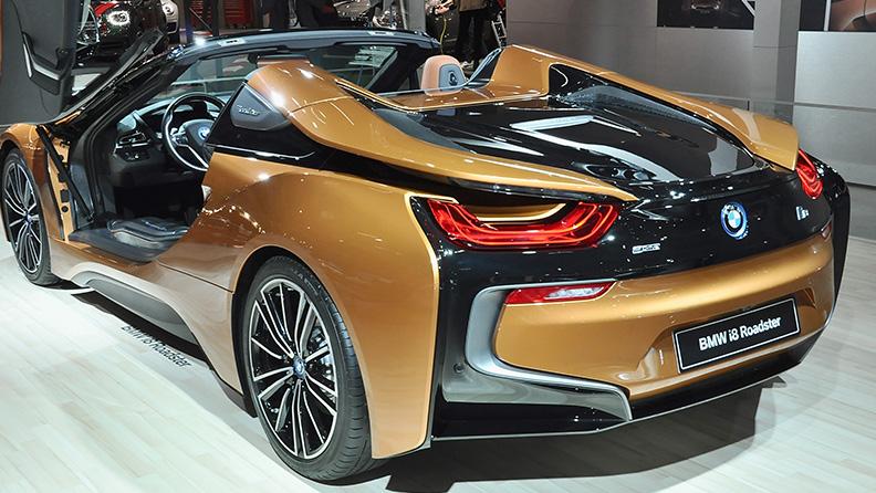 Carros elétricos disponíveis no Brasil - BMW i8