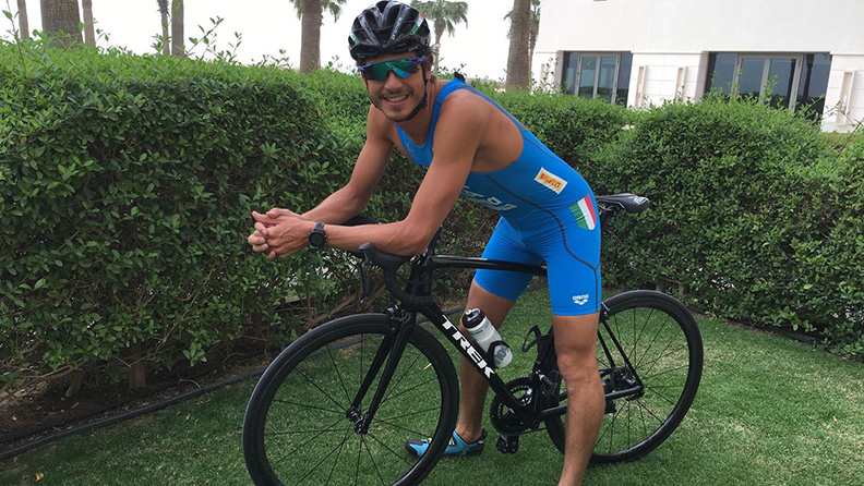 A triathlete for Pirelli 01
