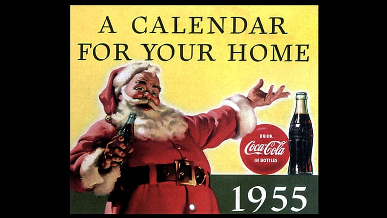 The most famous calendars in the world - Coca Cola