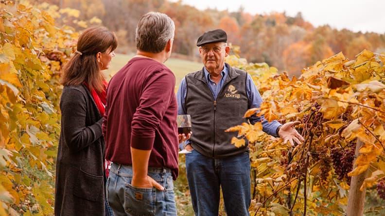 Innamorarsi dell'autunno nordamericano - Finger Lakes