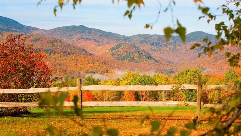 Innamorarsi dell'autunno nordamericano - Vermont