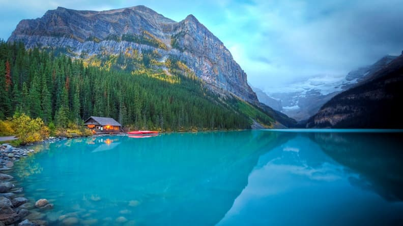 Falling for North America - Banff & Lake Louise