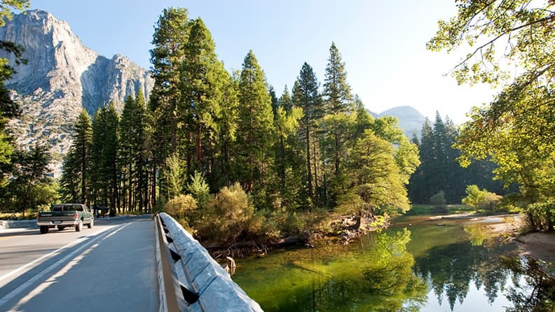 Five American drives to give thanks for - Yosemite