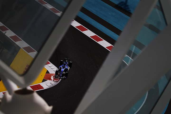 An ideal lab <br>on the final F1 track