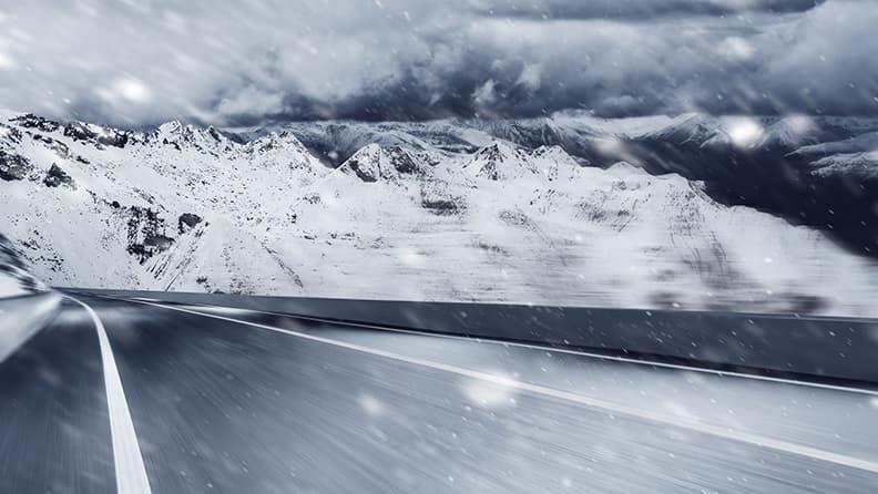 Die 5 goldenen Regeln für das Fahren auf Schnee