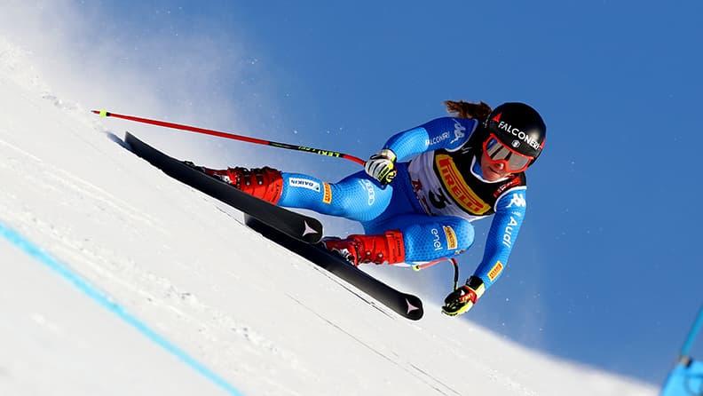 Wierer, Goggia e Paris premiati con gli altri campioni della neve alla Bicocca - Goggia
