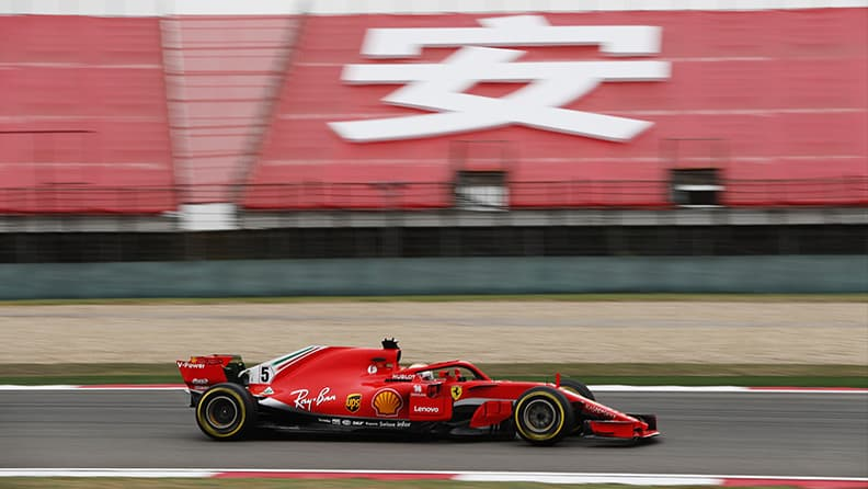 Formula 1 in China: the 1000th grand prix 02