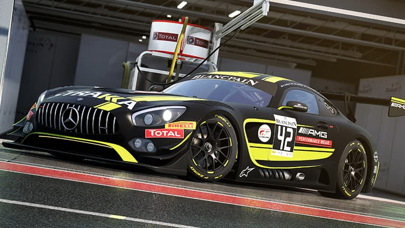 From the real tracks to virtual ones with the Blancpain GT3 02