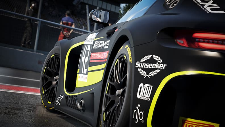 From the real tracks to virtual ones with the Blancpain GT3 03