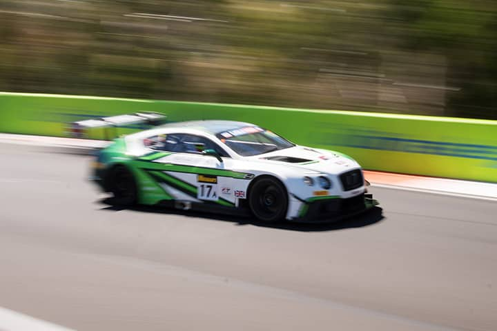 The history of a car - <br>the Bentley Continental GT3