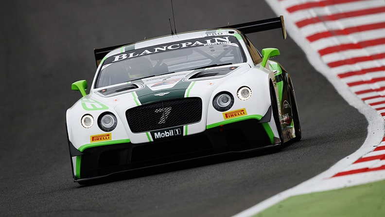 The history of a car - the Bentley Continental GT3 01