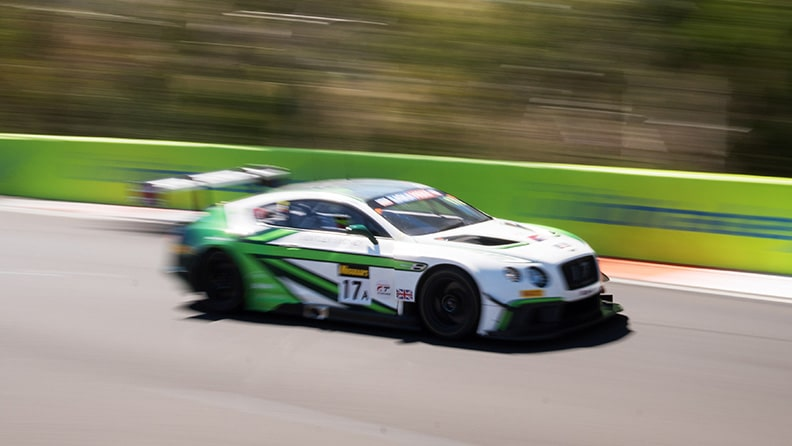 The history of a car - the Bentley Continental GT3 02