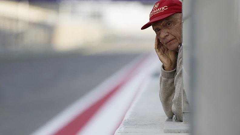 Addio a Niki Lauda, campione di F1 01