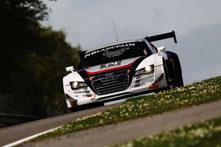 The history of <br>the AUDI R8 LMS