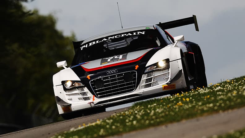 The history of the AUDI R8 LMS 02