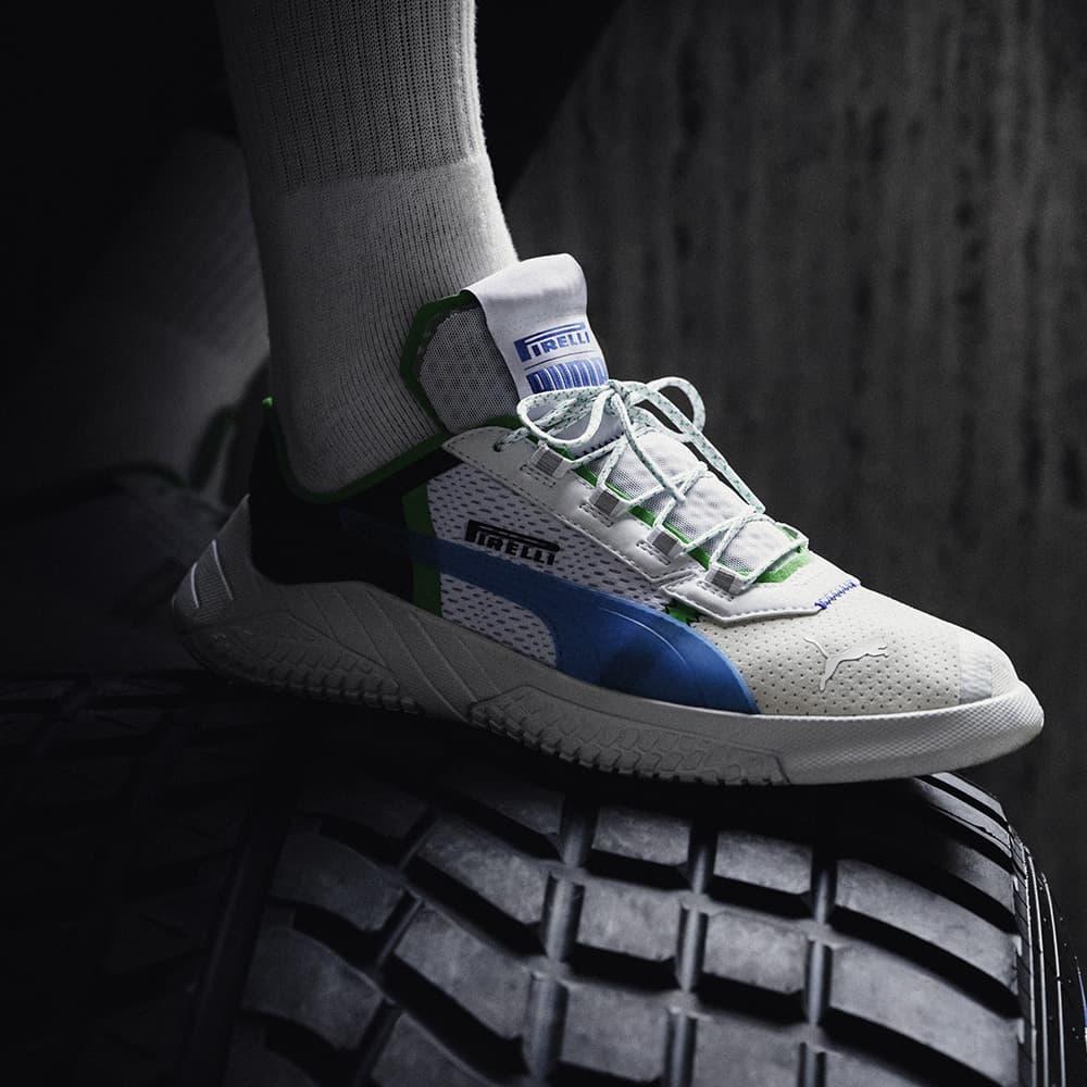 Puma Sneaker with the Pirelli Footprint