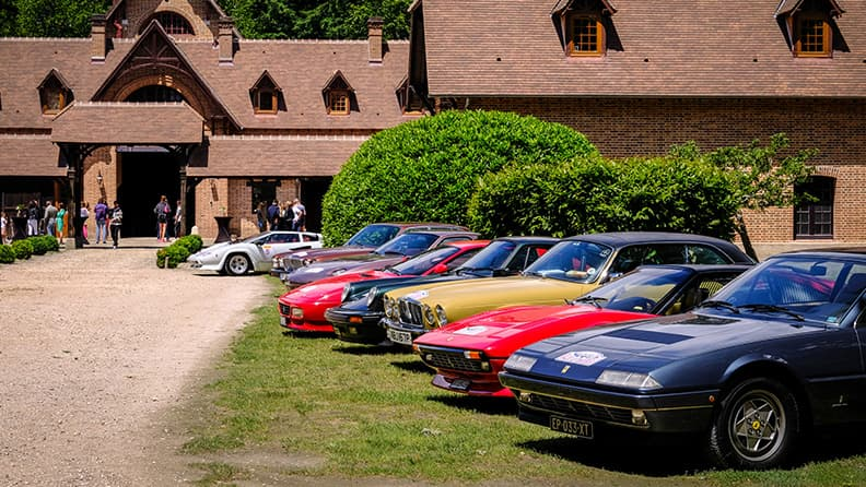 Vendôme 80, line-up of turbocharged cars from the Eighties 01