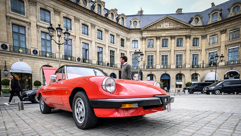 Vendôme 80, line-up of turbocharged cars from the Eighties 02