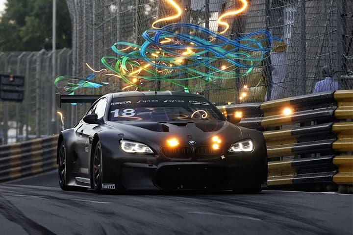 BMW M6 GT3, a supercar combining endurance and contemporary art