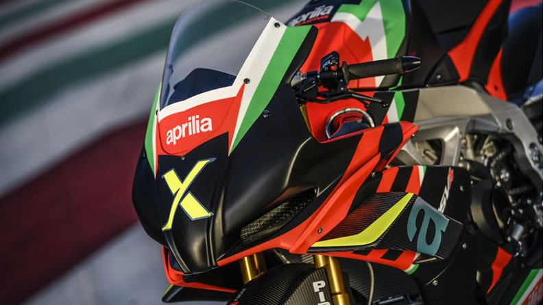 Aprilia RSV4 X, a collector's gem of which only 10 exist 01